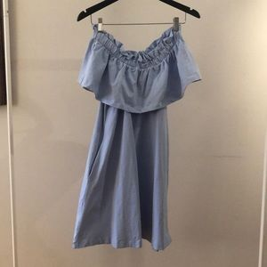 H&M Over-the-Shoulder Dress w/pockets